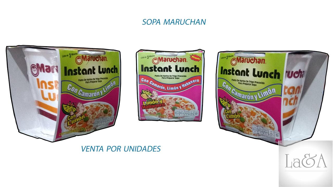 Sopa Instantánea  Maruchan