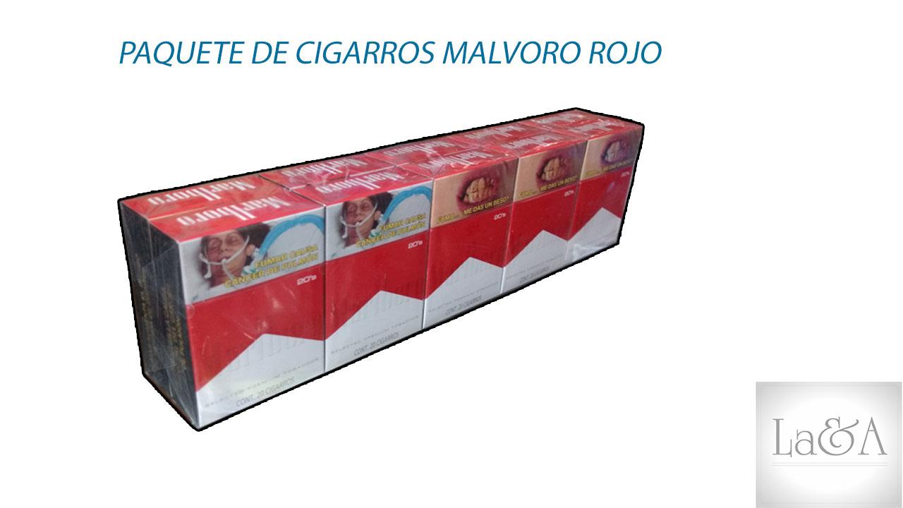 Paquete de Cigarros Malvoro