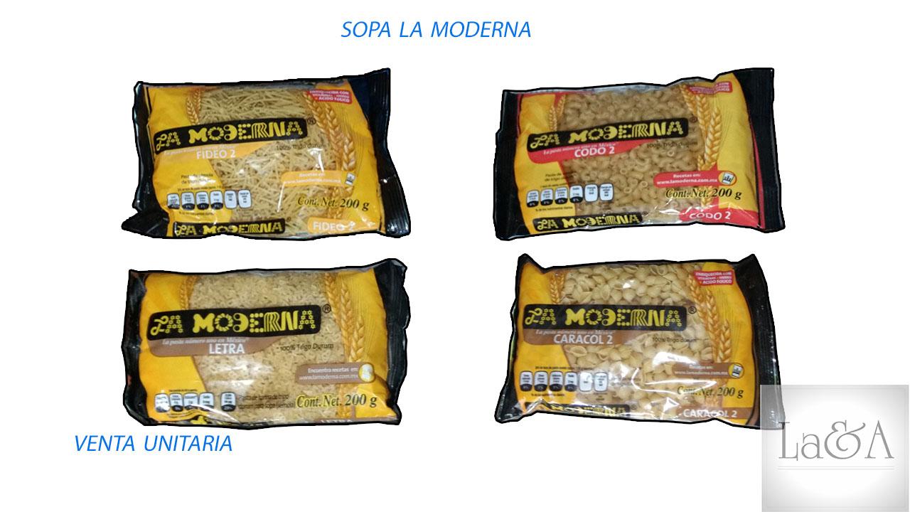 "Sopa ""La Moderna"""