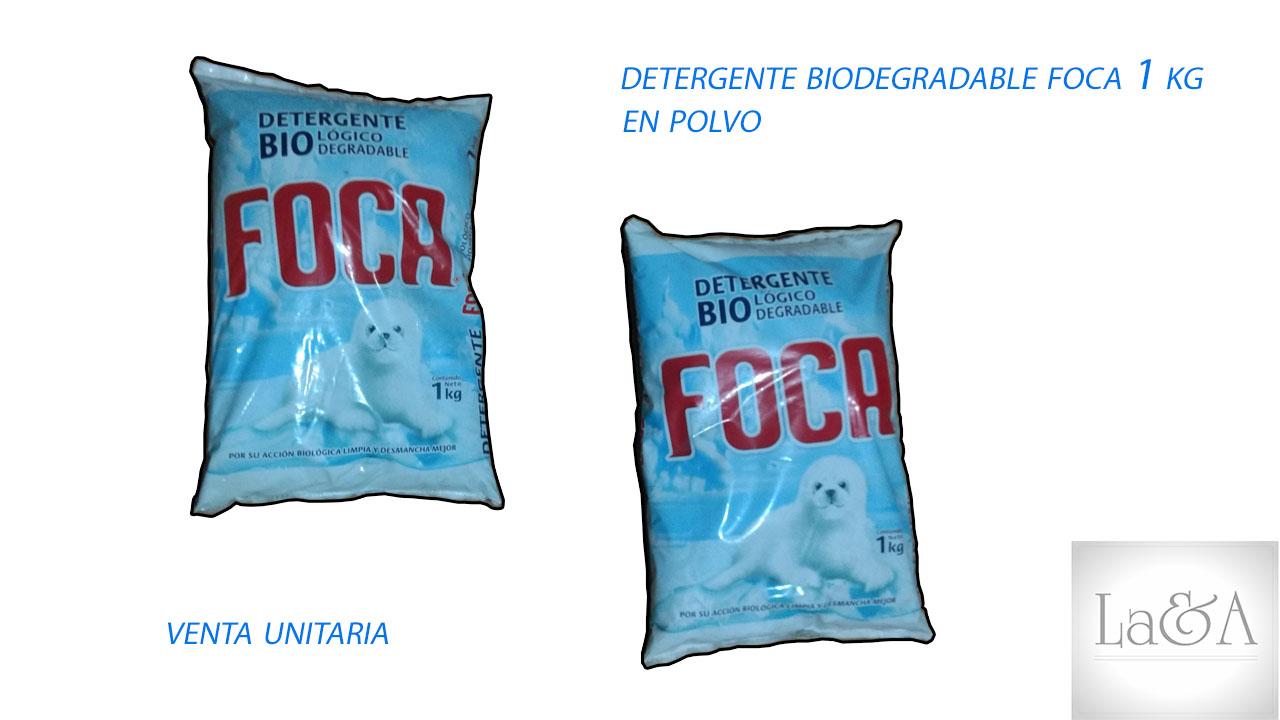 Detergente Foca 1 Kg.