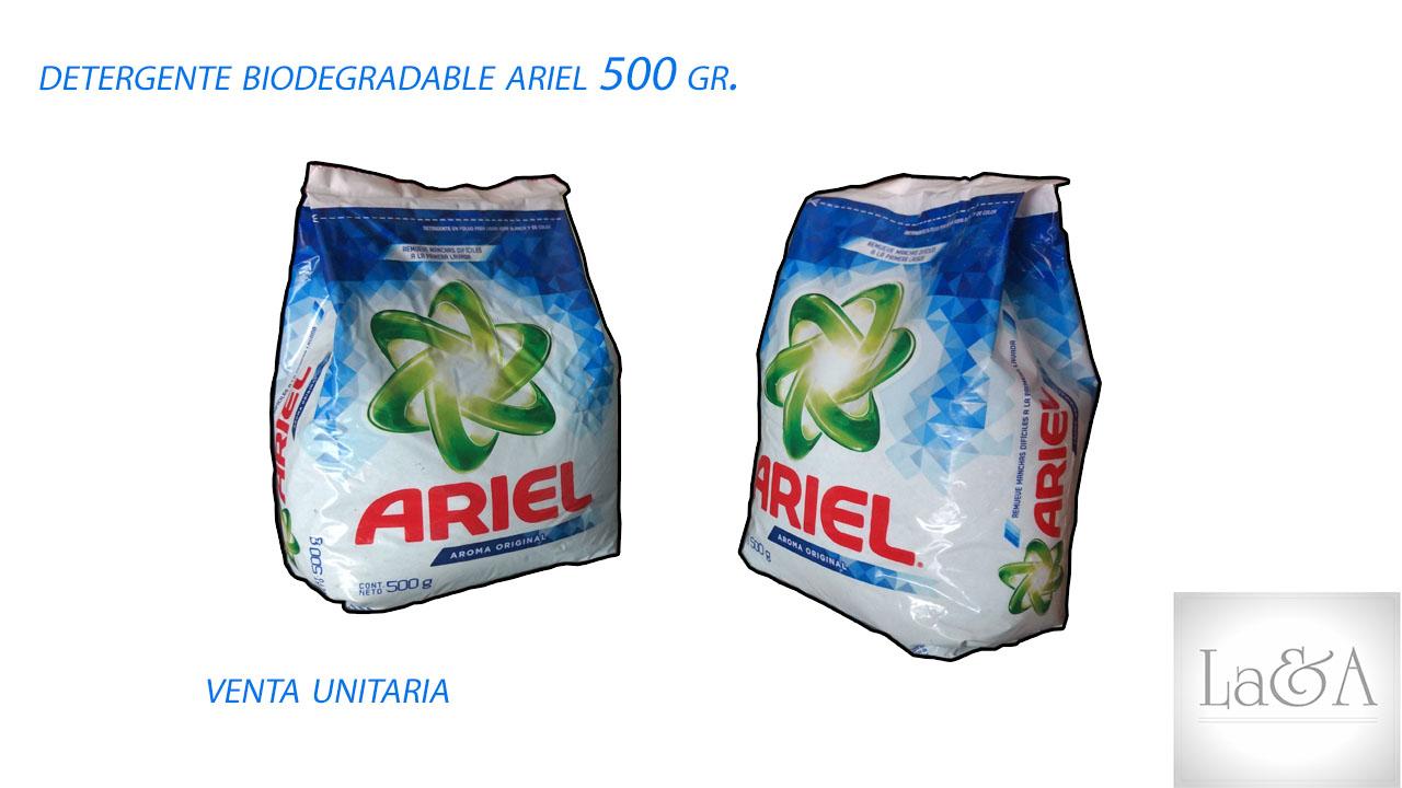 Detergente Ariel  500 gr.