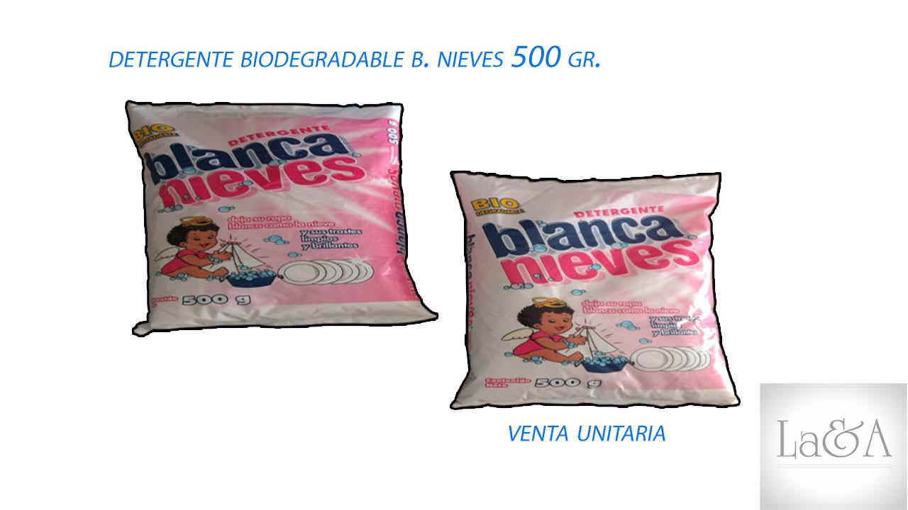 Detergente Blanca Nieves 500 gr.
