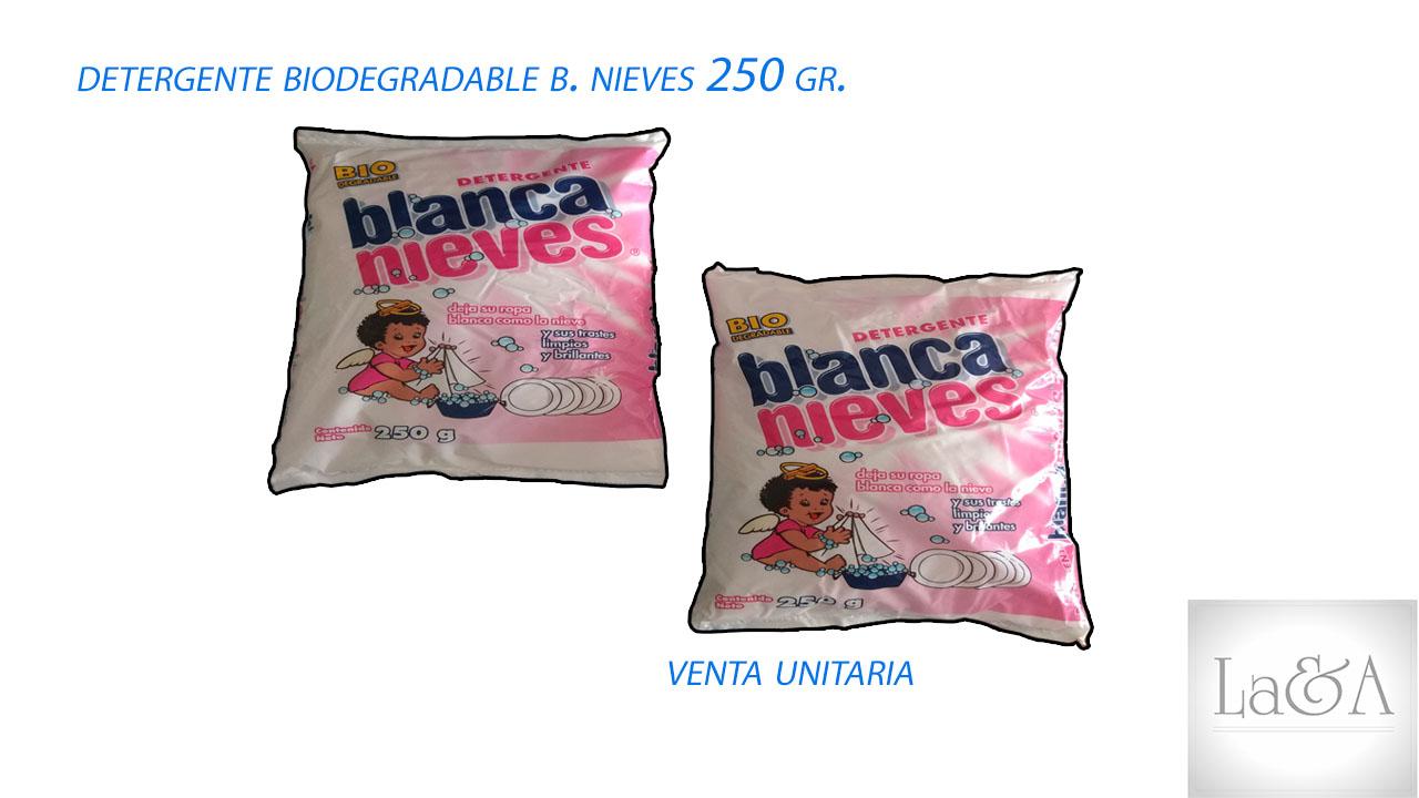 Detergente Blanca Nieves 250 gr.