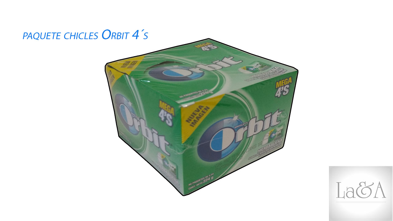 Chicles Orbit 4´s