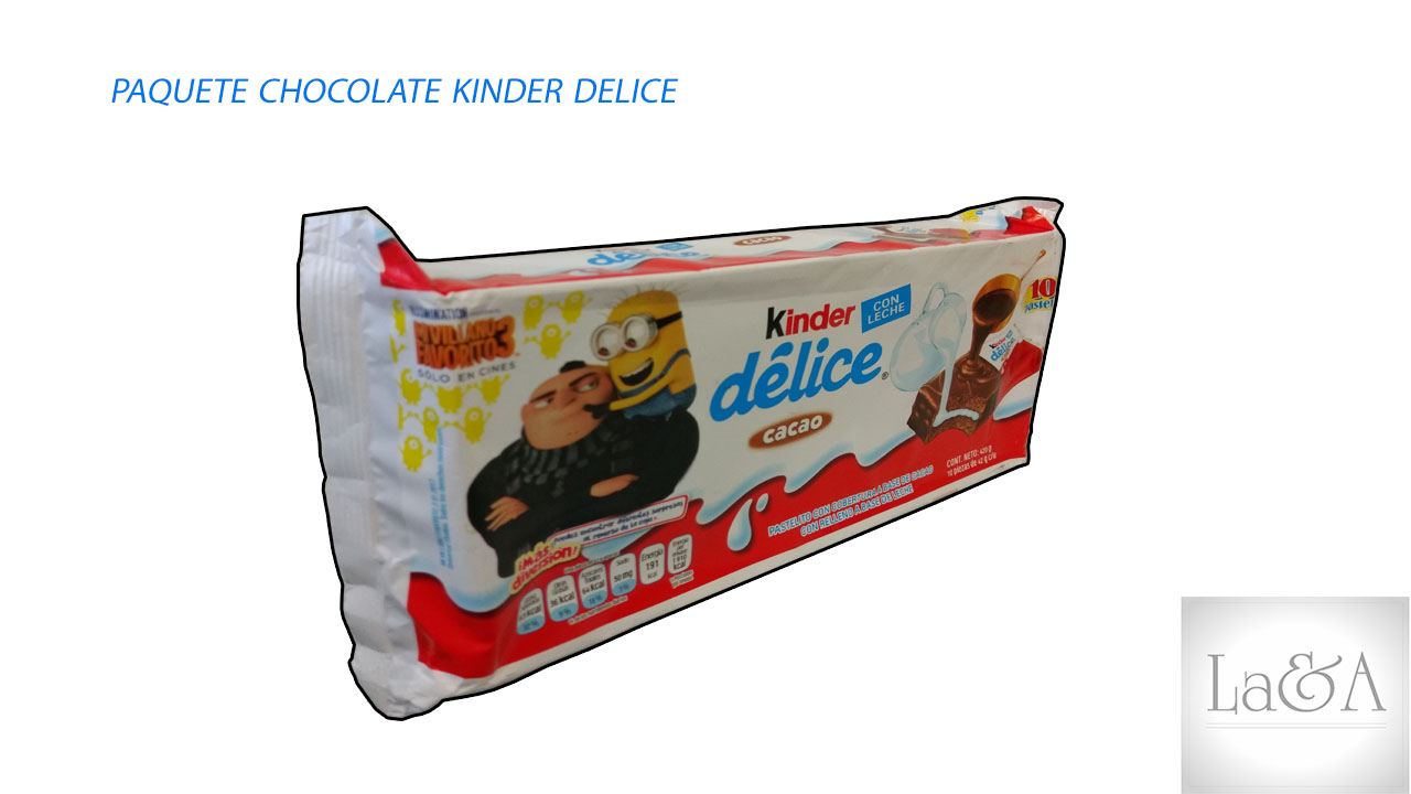 Chocolate Kinder Delice