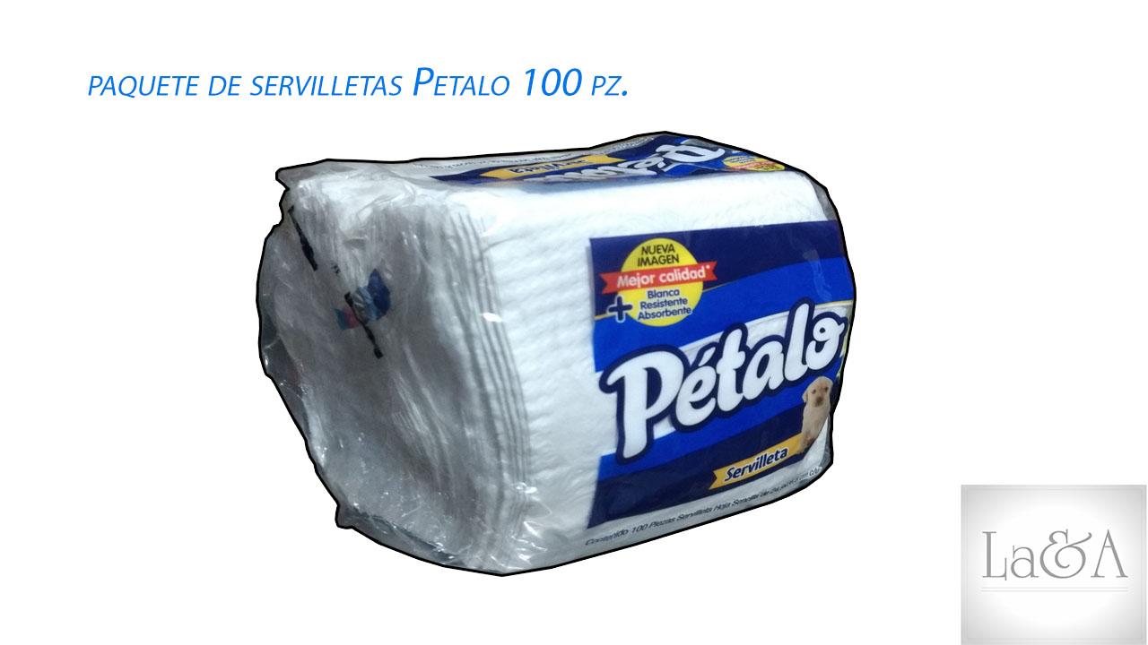 Servilleta Pétalo 100 hjs.