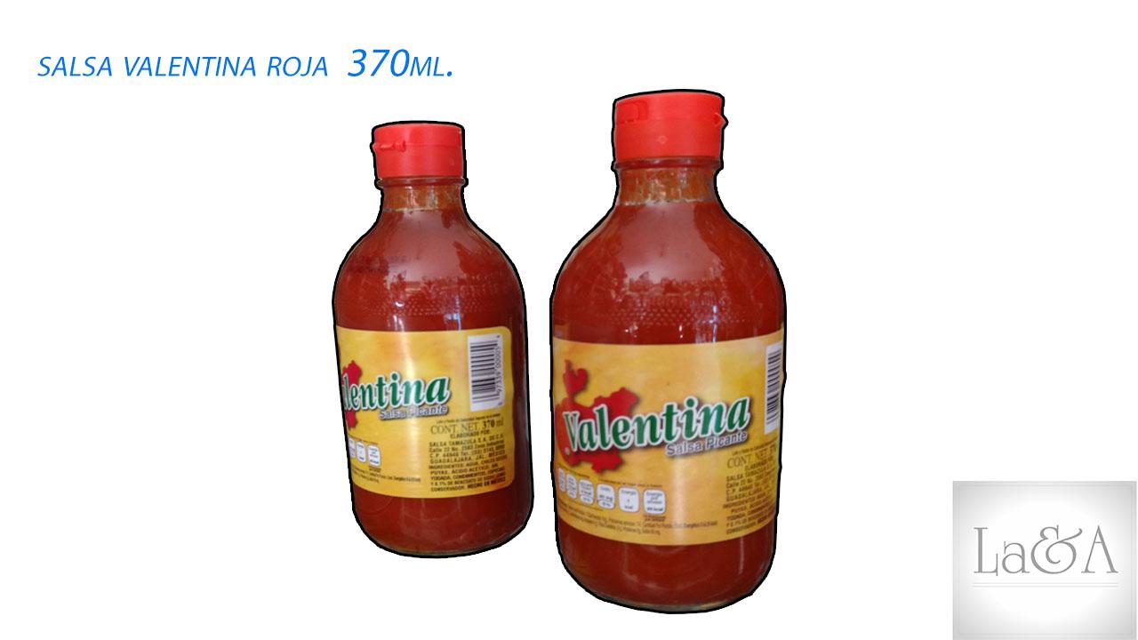 Salsa Valentina Roja 370ml.