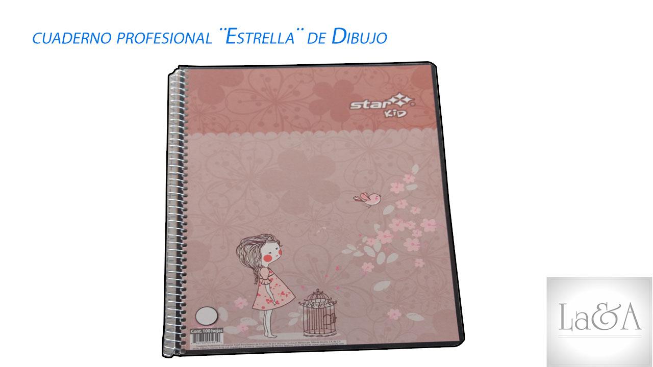 Cuaderno Profesional Estrella Dibujo
