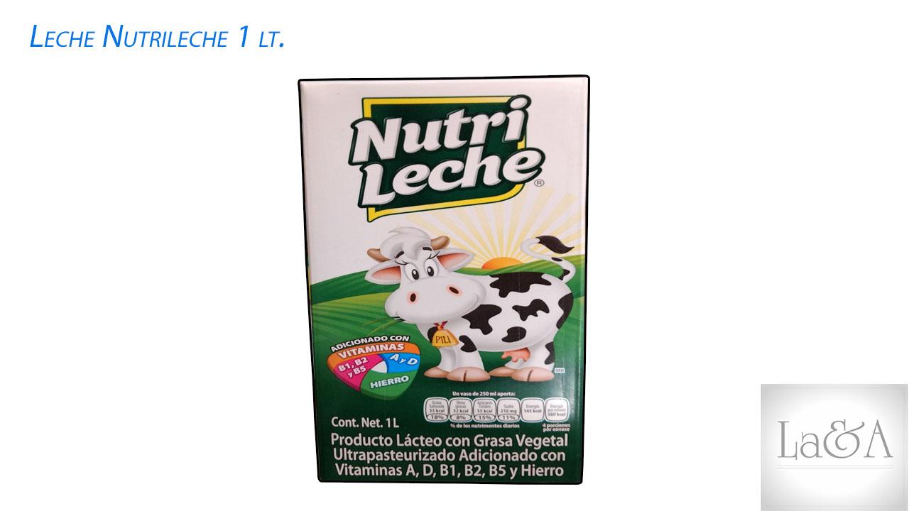 Leche Nutrileche  1lt.