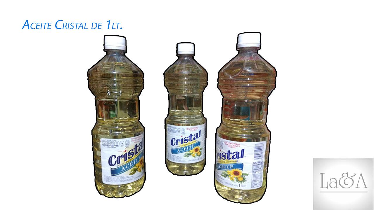 Aceite Cristal 1lt.