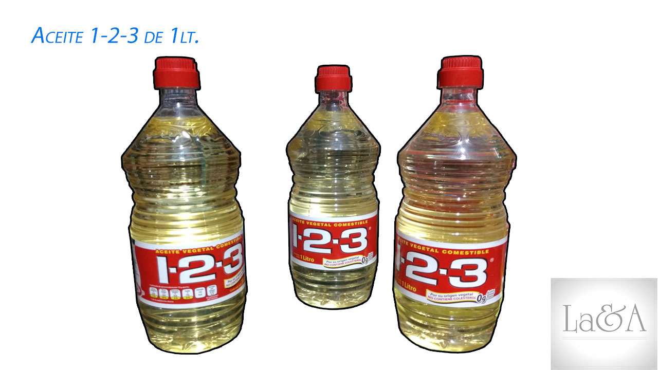 Aceite 1-2-3 1lt.
