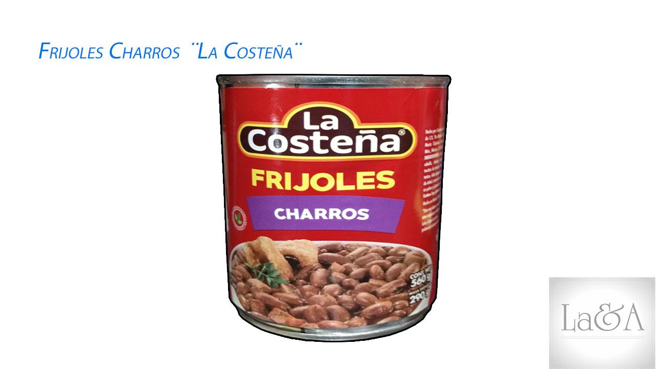"""Frijoles Charros """"La Costeña¨ 560gr."""