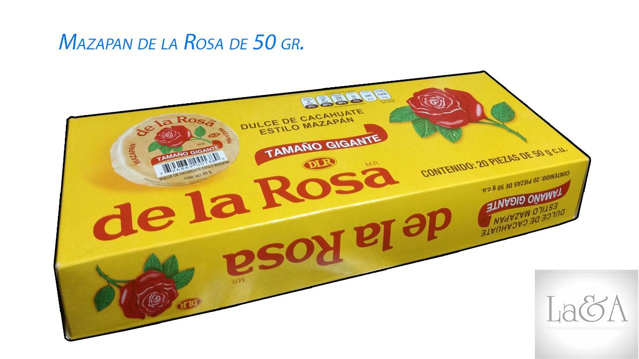 Mazapan De la Rosa 50gr.