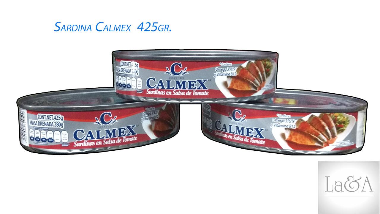 Sardina Calmex 425gr.