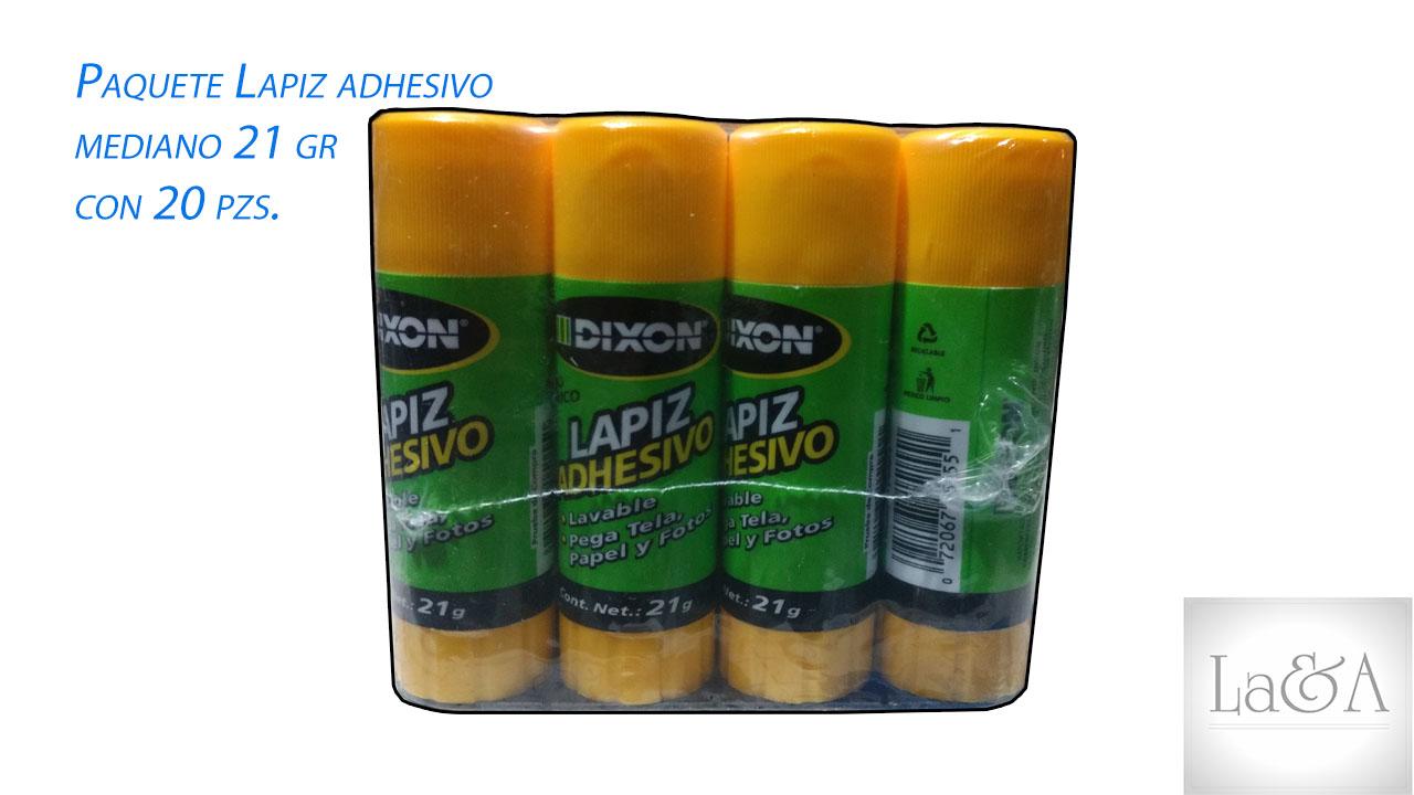 Paquete Lápiz Adhesivo Mediano