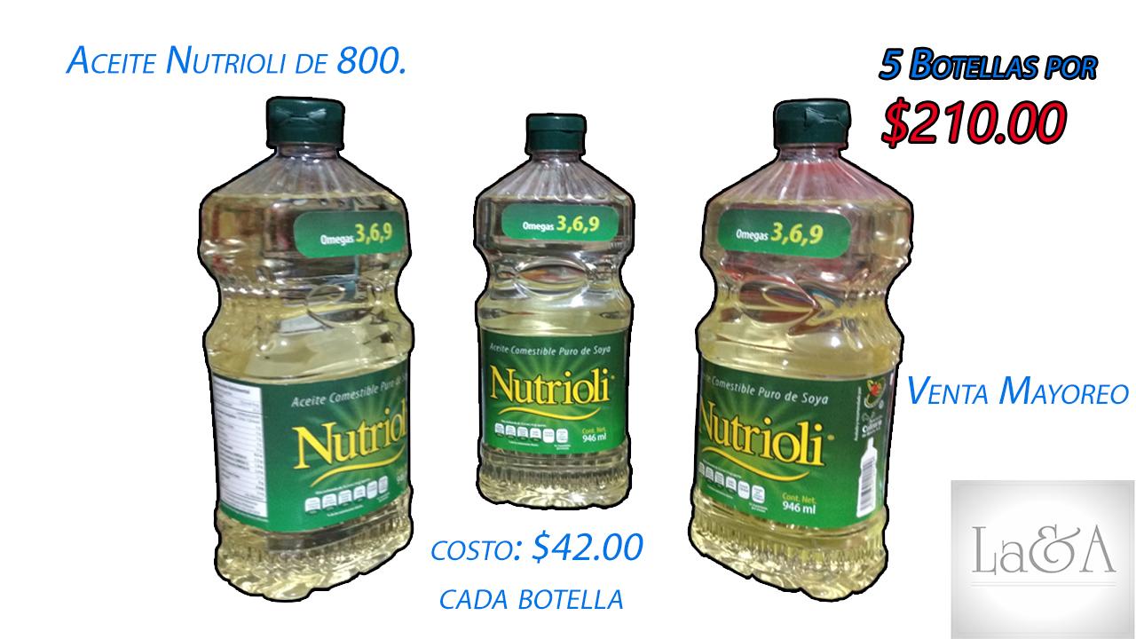 Aceite Nutrioli 1lt.
