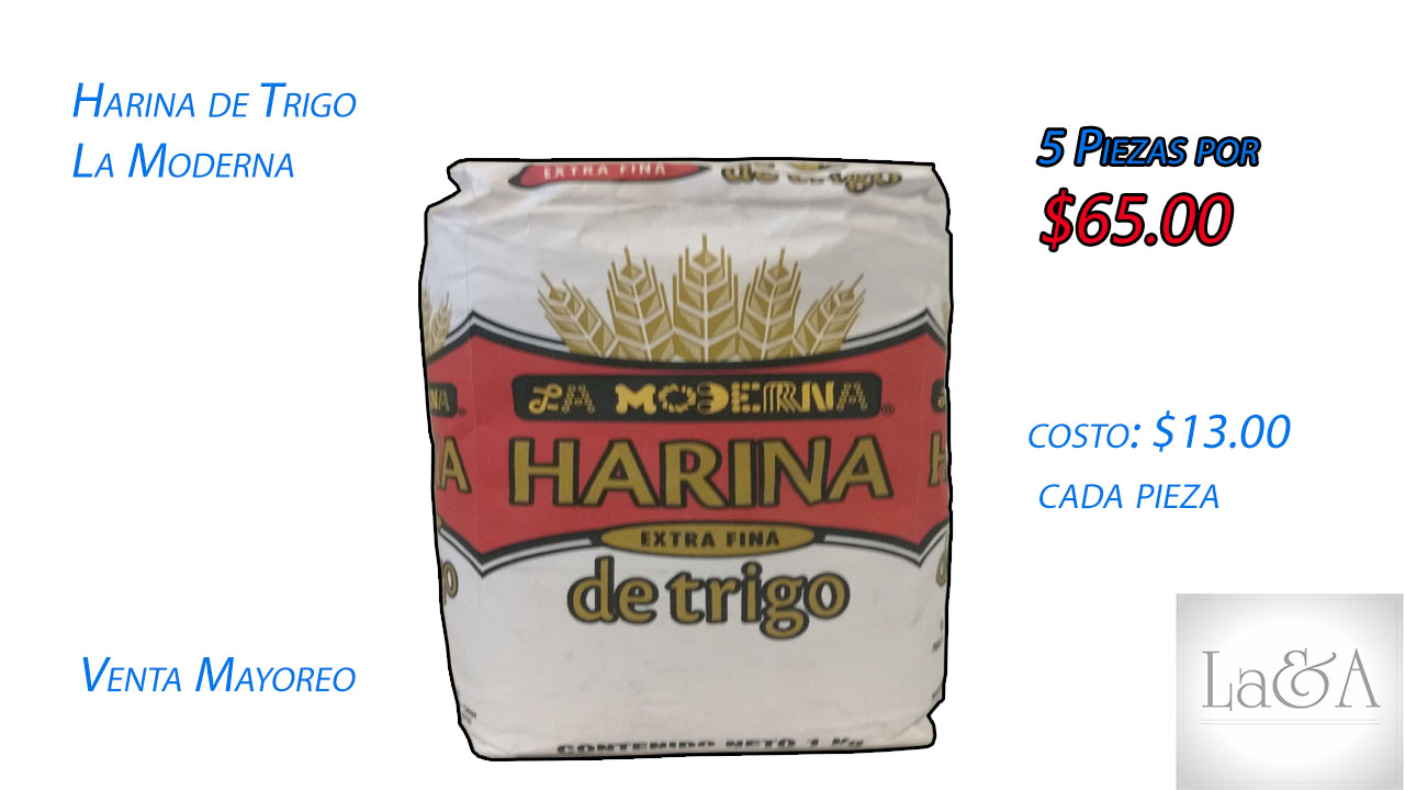 Harina de trigo  La Moderna