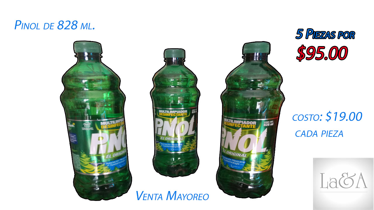 Pinol de 828 ml.