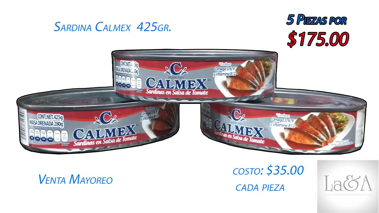 Sardina Calmex 425 gr.