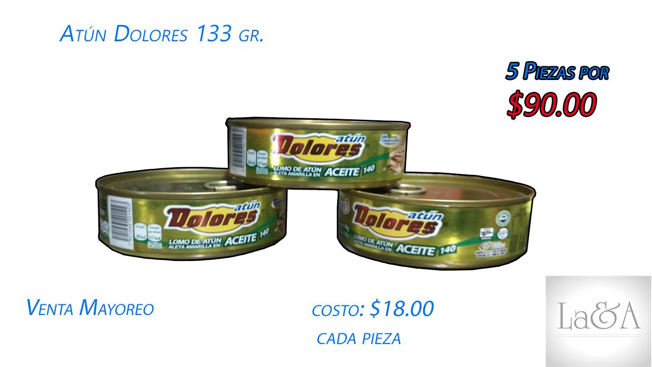 Atun Dolores Aceite  133 gr.