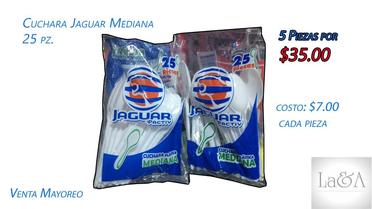 Cuchara Desechable Jaguar