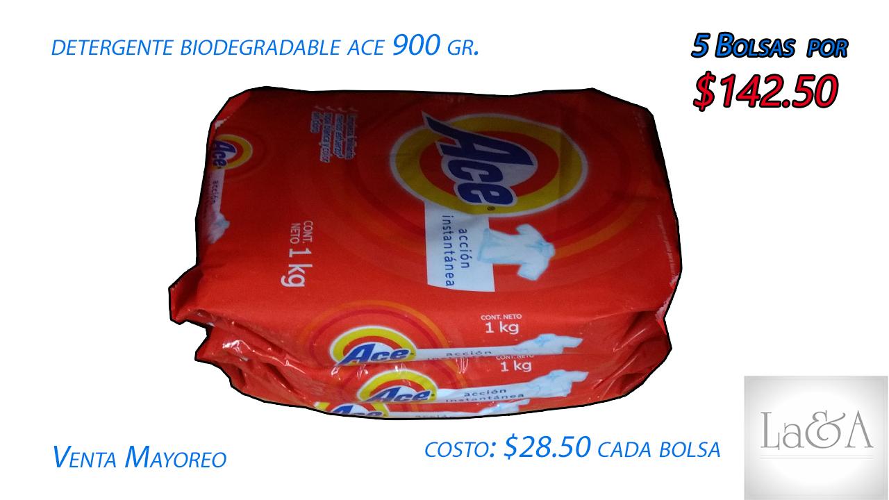 """Detergente  """"Ace"""" 900 gr."""