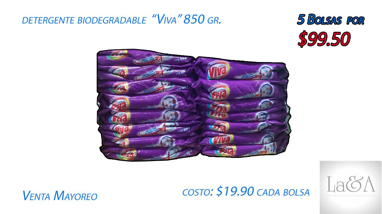 "Detergente ""Viva"" Lavanda 850 gr."
