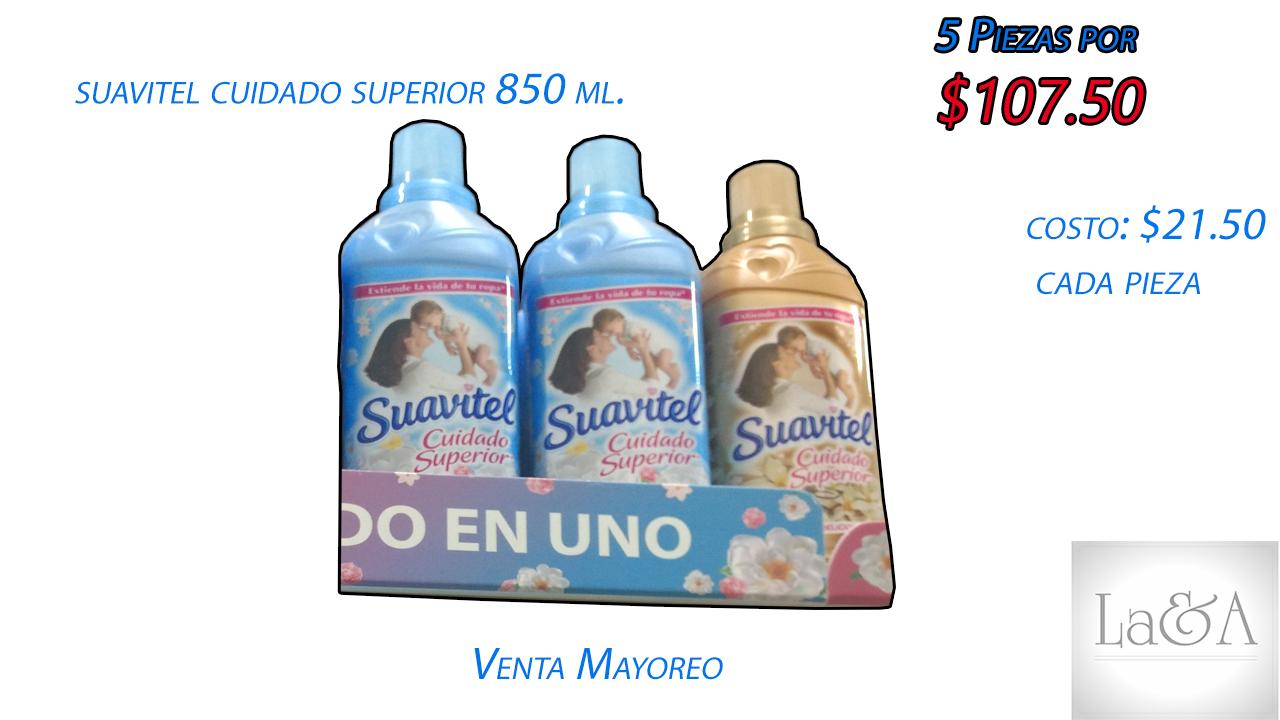 Suavitel Cuidado S. 850 ml.