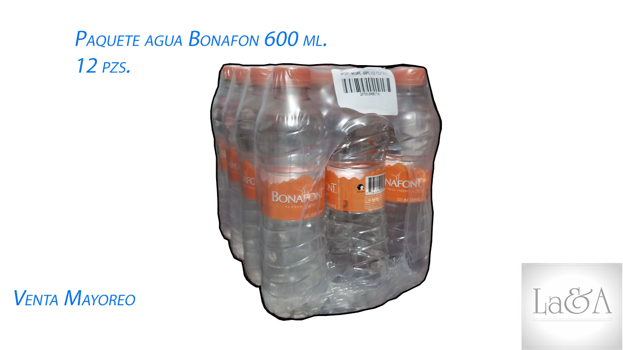 Bonafon 600 ml. 12 pzs.