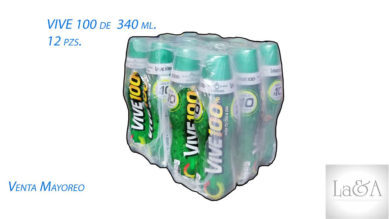 Vive 100 de 340 ml.