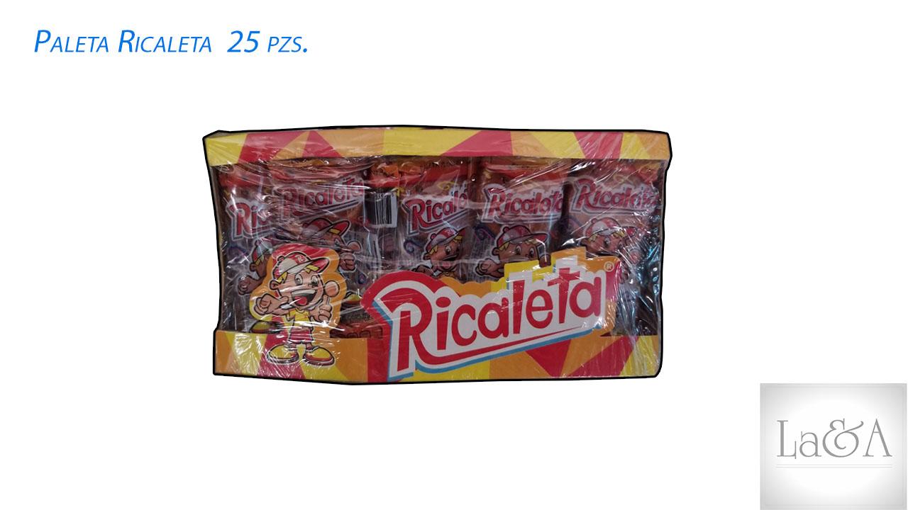 Paleta Ricaleta 25 pzs.