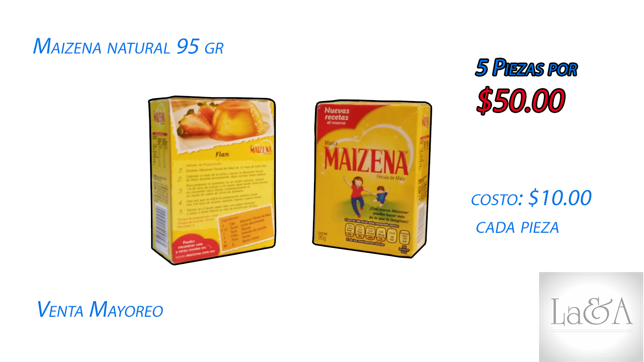 Maizena Natural 95 gr.