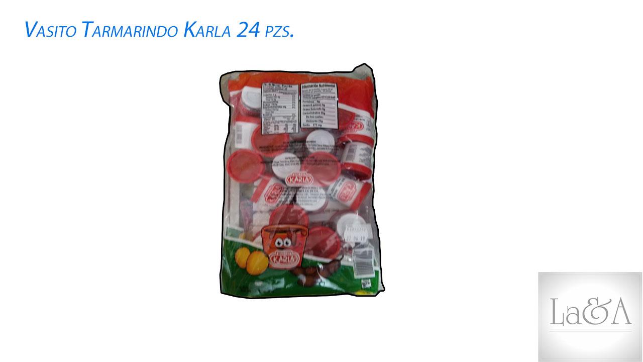 Vasito Tamarindo Karla 24 PZS.