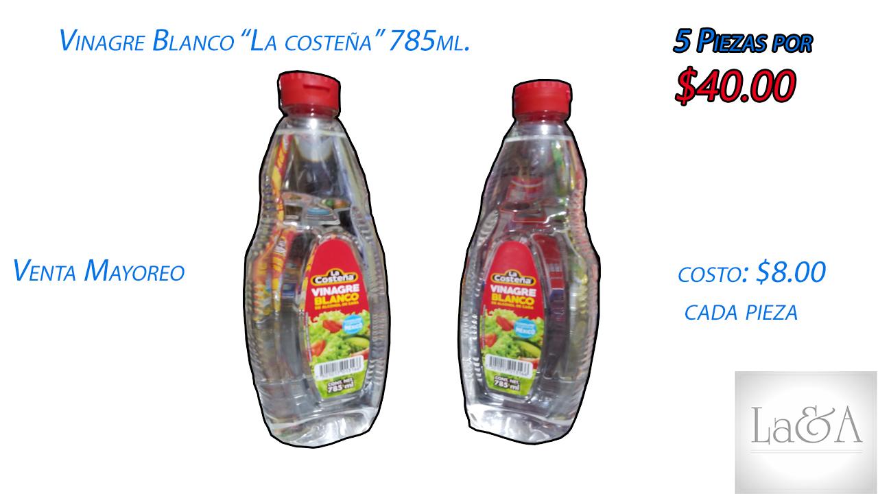 Vinagre Blanco 785 ml.