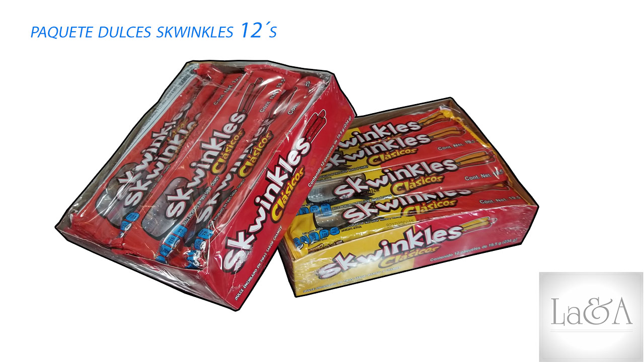 Skwinkles 12 pzas.