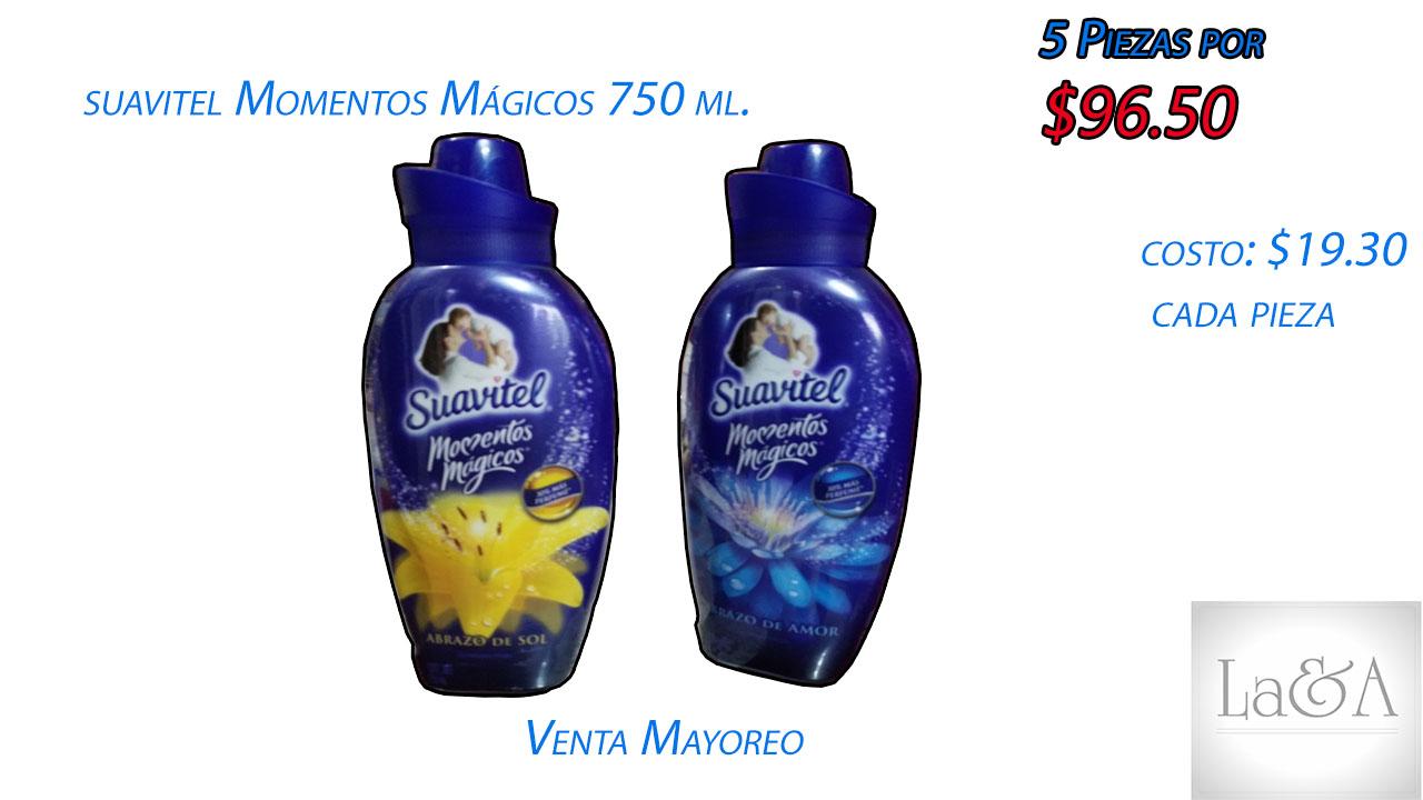 Suavitel Momentos Mágicos 750 ml.