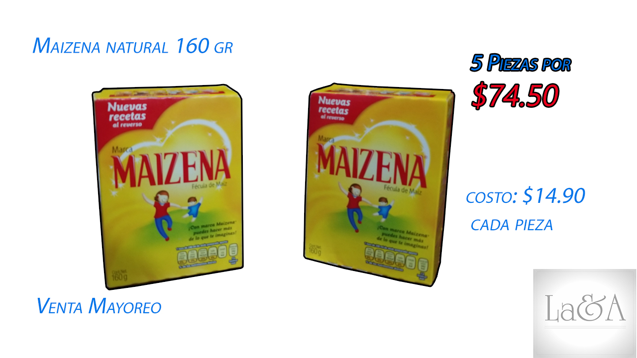 Maizena Natural 160 gr.