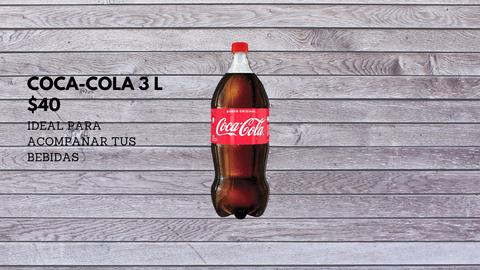 Coca-cola 3lt