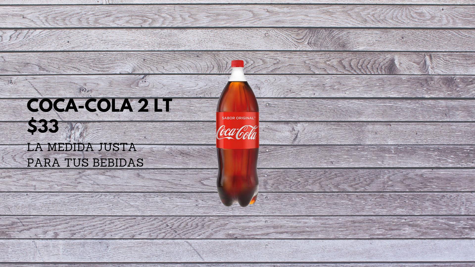Coca-cola 2 lt.