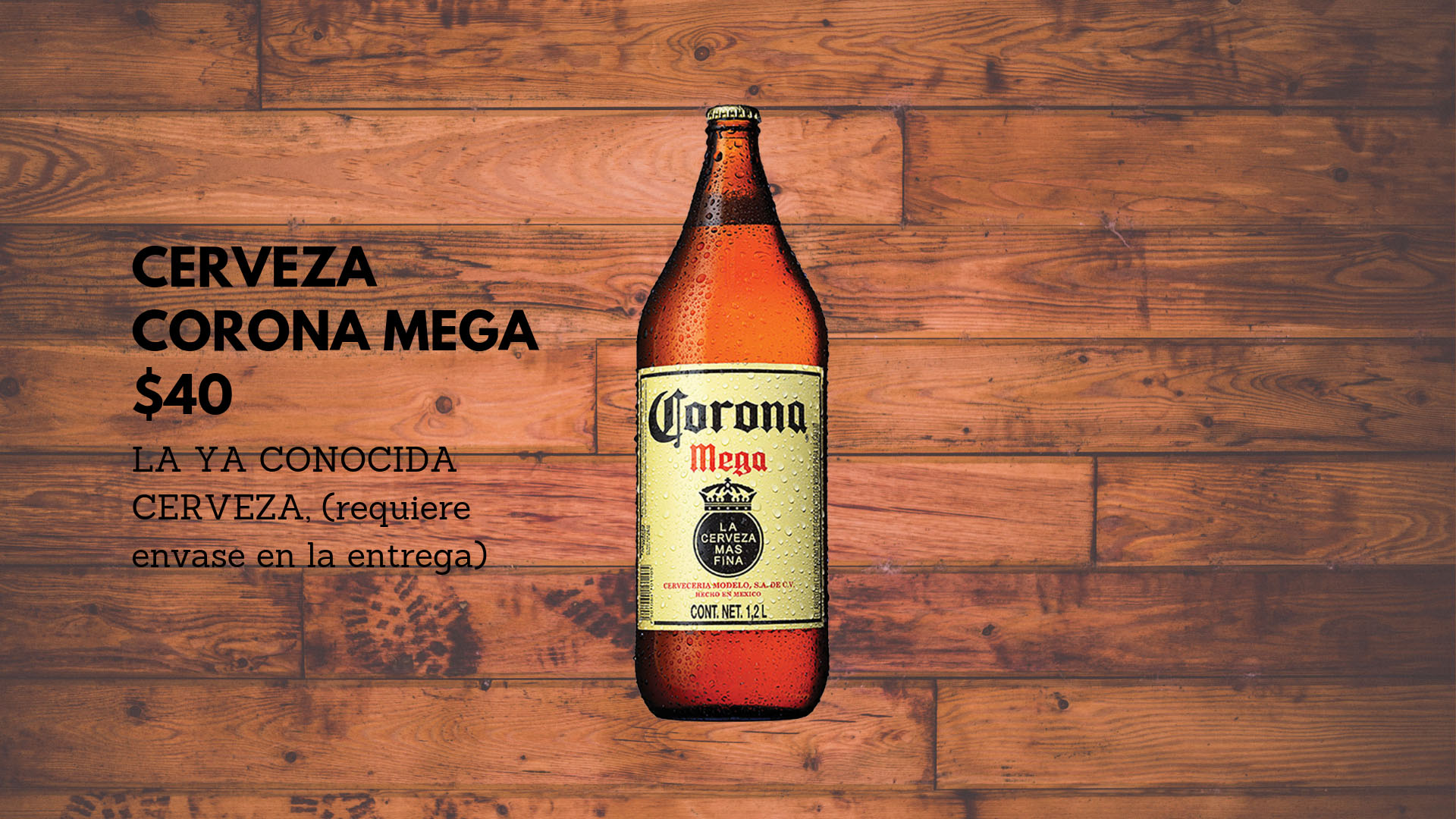 Cerveza Corona Mega