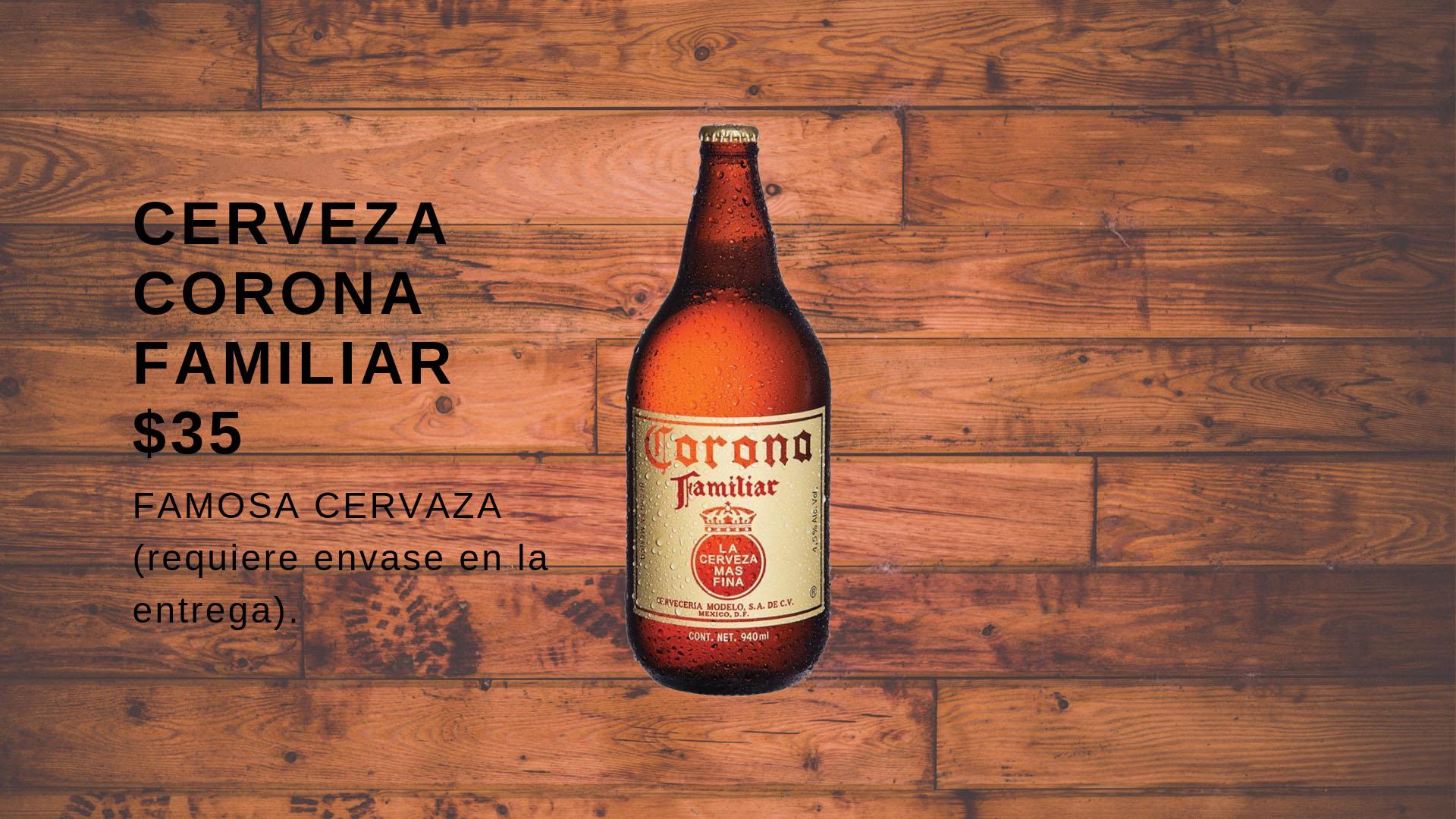 Cerveza Corona Familiar
