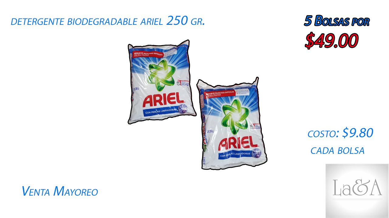Ariel  250 gr.