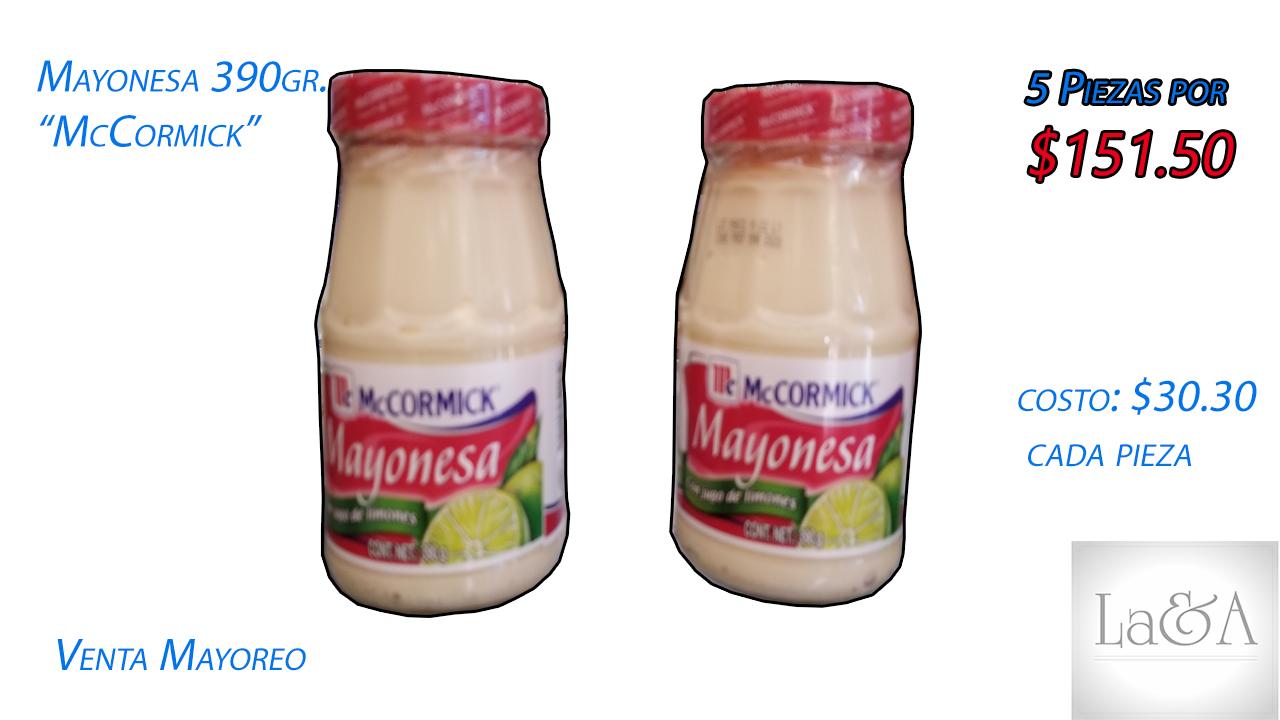 "Mayonesa ""McCormick"" 390 gr."