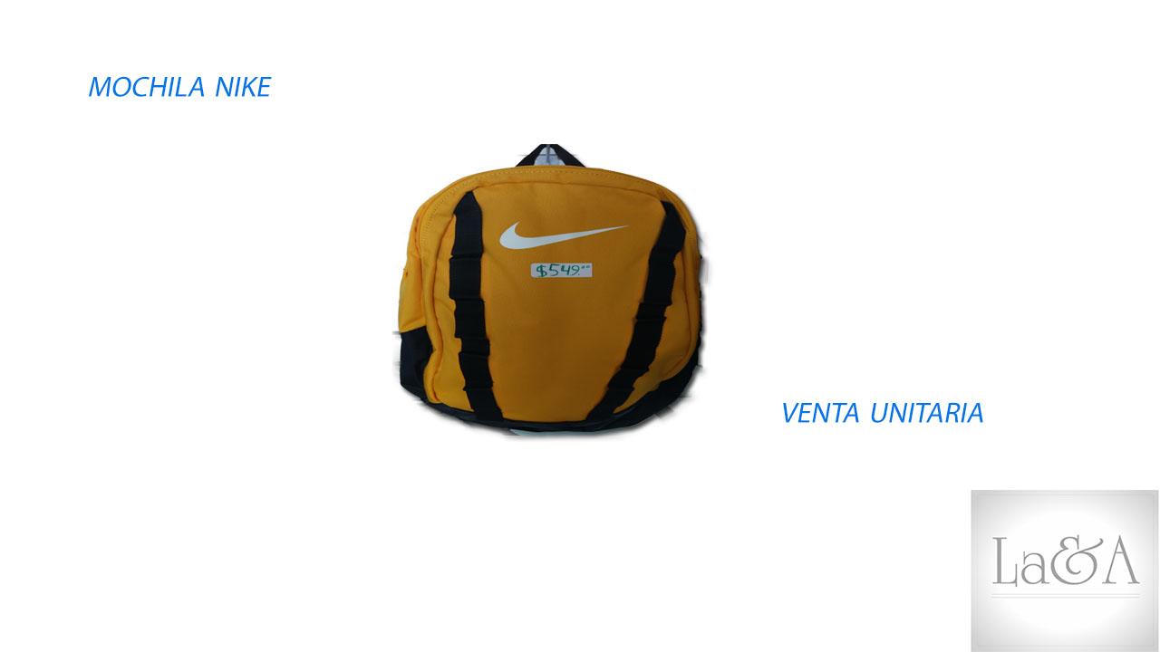 Mochila Nike Amarilla
