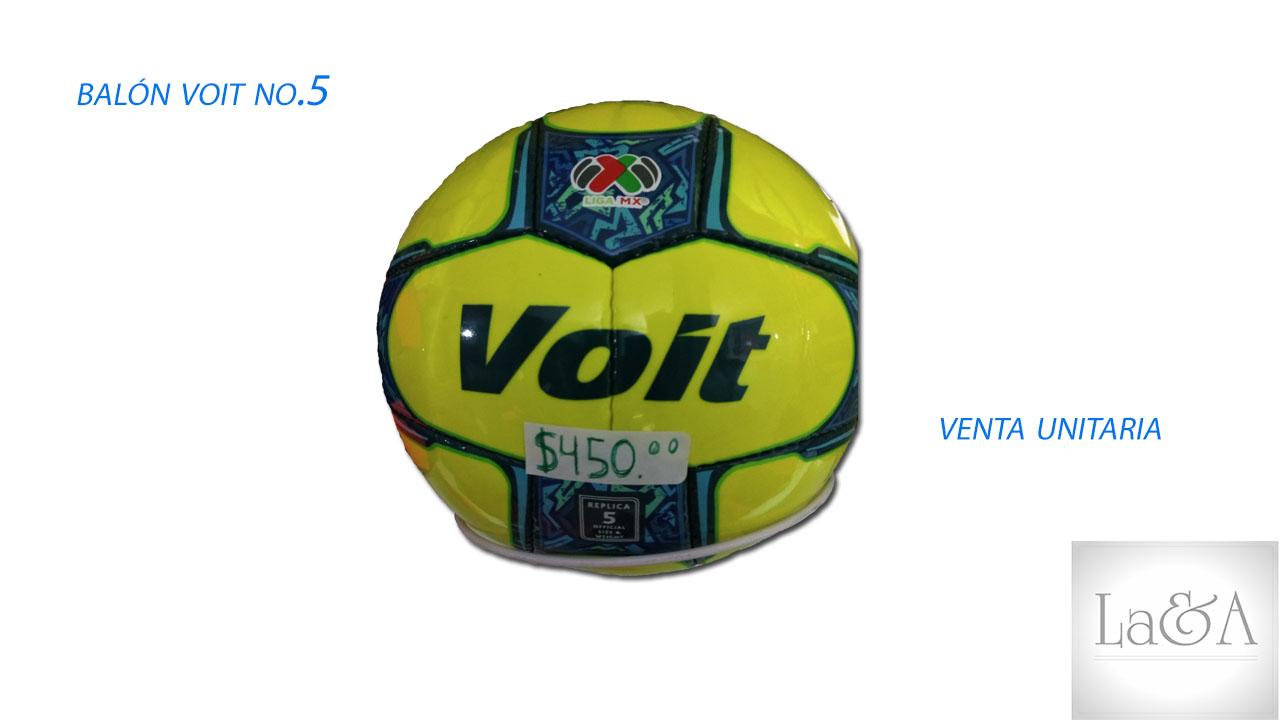 Balón Voit Liga Mx.