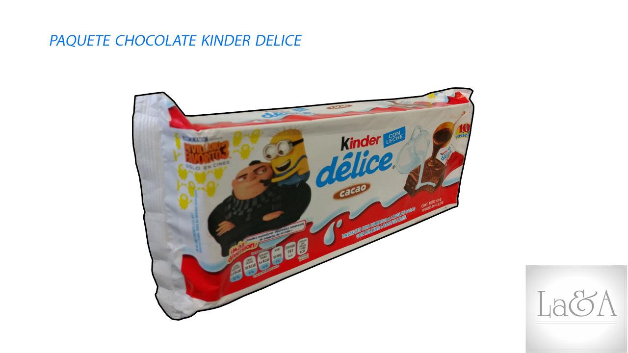 Chocolate Kinder Delice