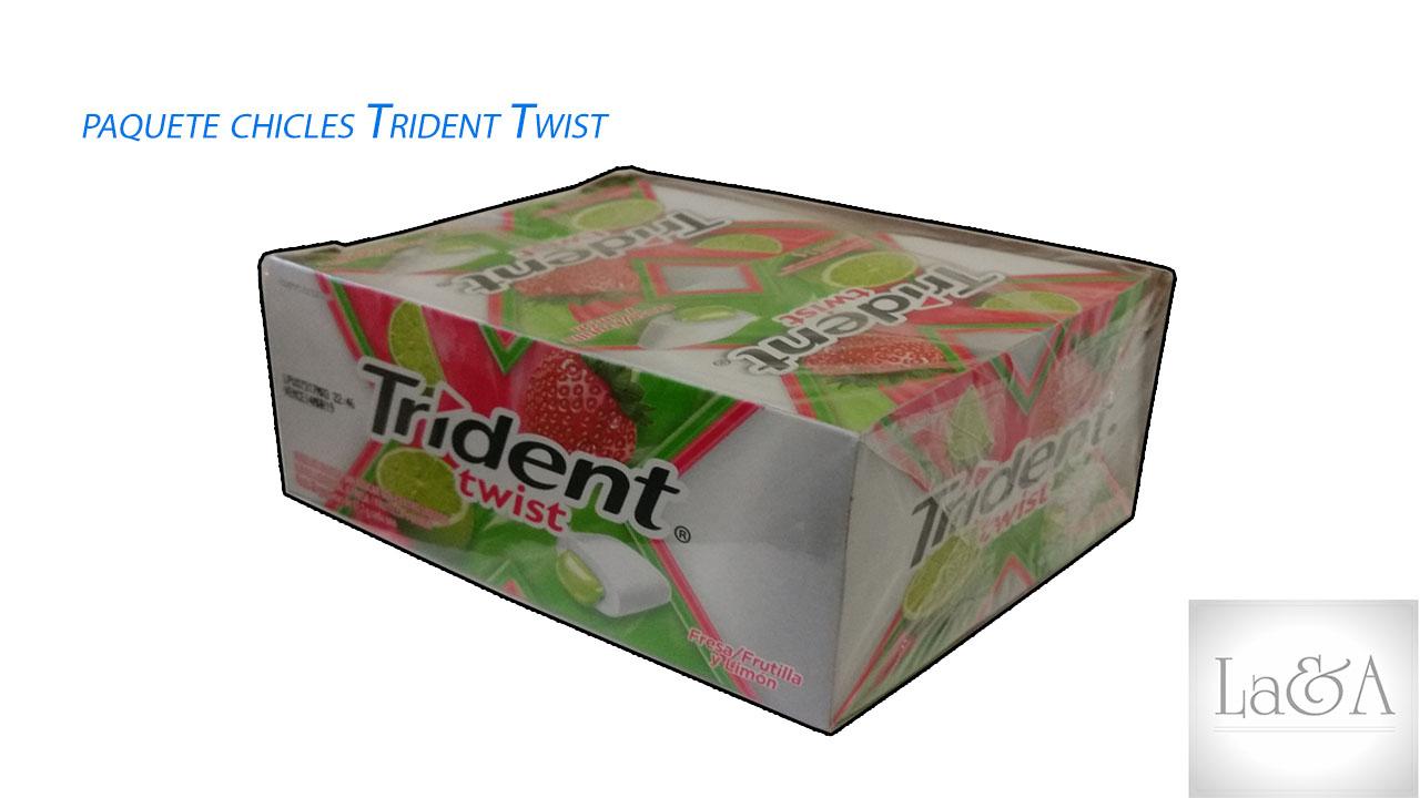 Chicles Trident Twist