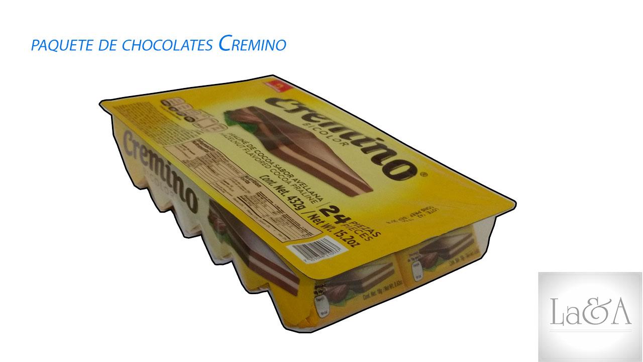 Chocolates Cremino