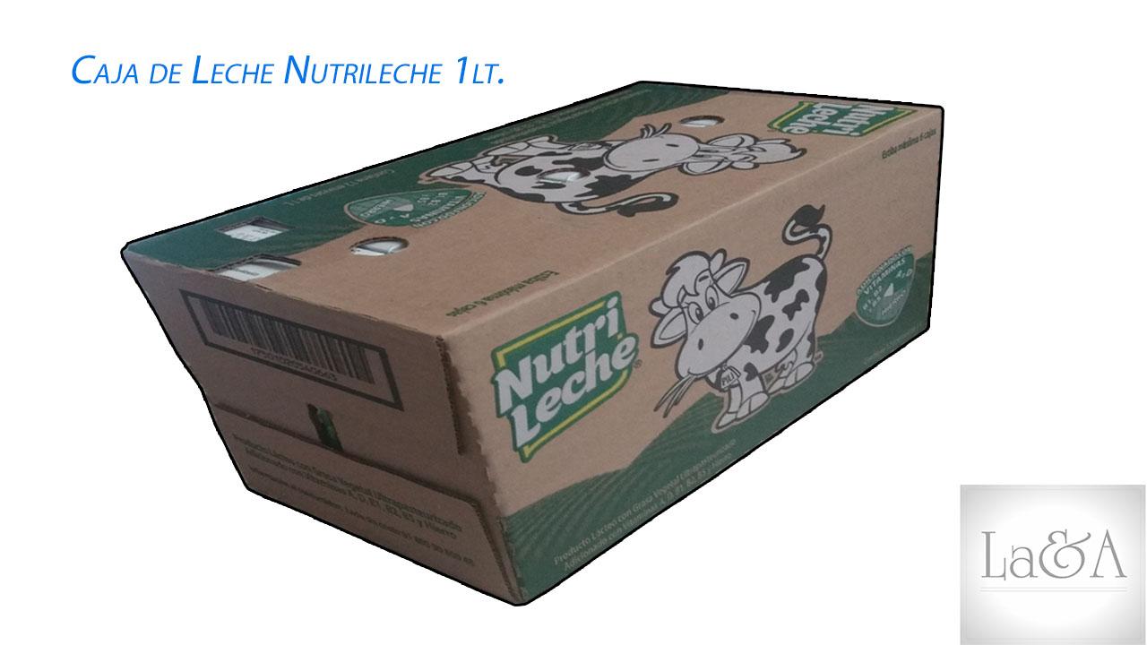 Caja de Leche Nutrileche