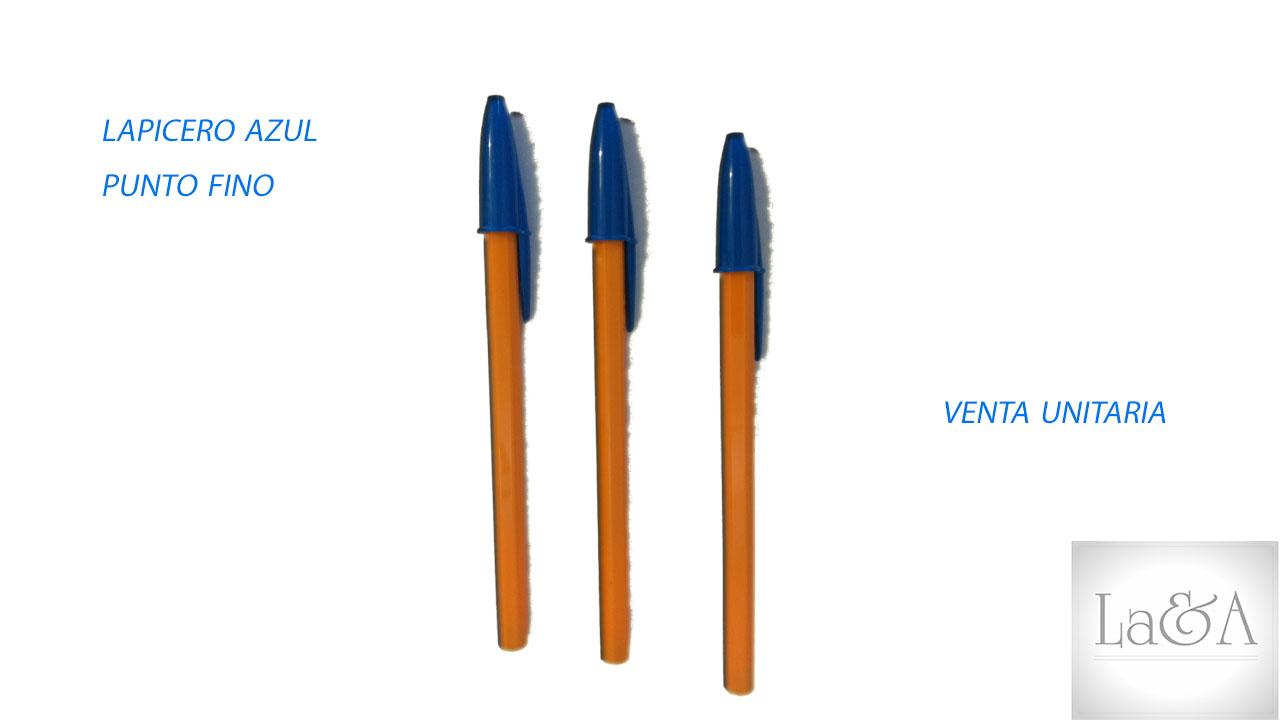 Lapicero Azul P. Fino